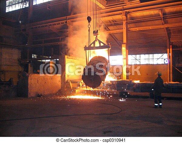 産業, 製錬 - csp0310941