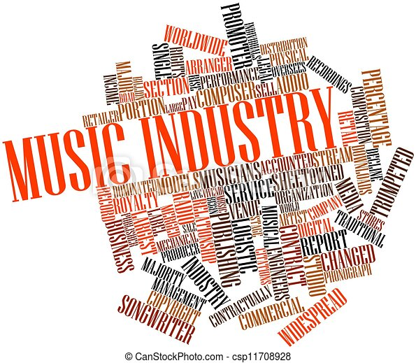 産業, 音楽 - csp11708928