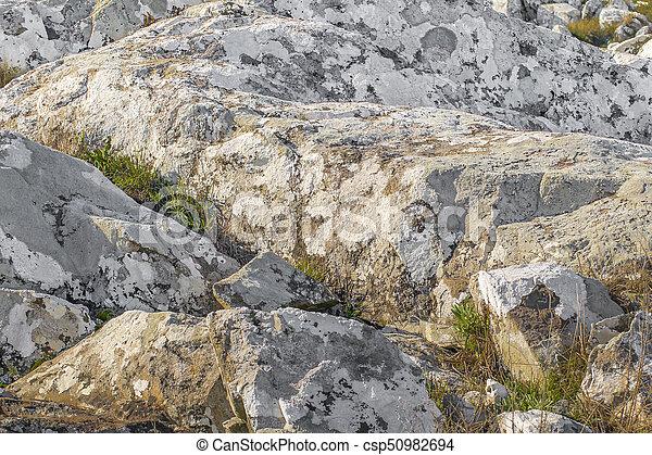 田舎, maldonado, 風景, 岩が多い, ウルグアイ - csp50982694