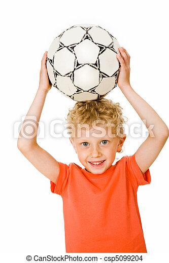 男の子, スポーツ - csp5099204