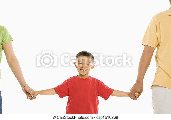 男の子, parents. - csp1510269