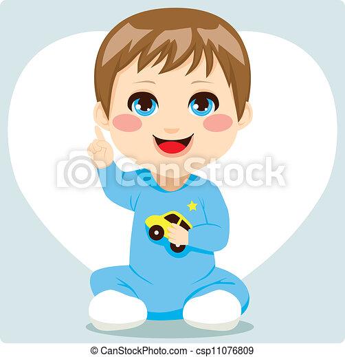 男の赤ん坊, 痛みなさい - csp11076809