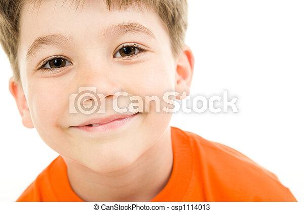 男孩, 脸 - csp1114013
