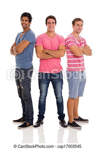 男性, グループ, 若い - csp17003545