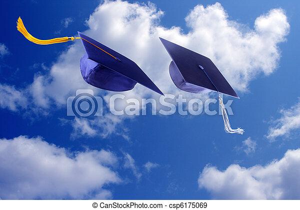 畢業帽子 - csp6175069