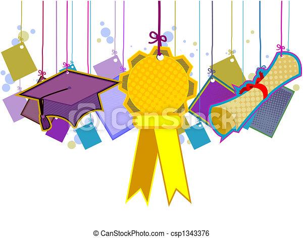 畢業 - csp1343376