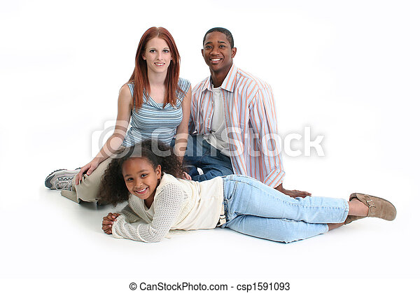 異人種間の家族 - csp1591093