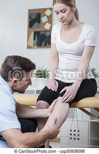 痛み, 患者, 足 - csp30938098