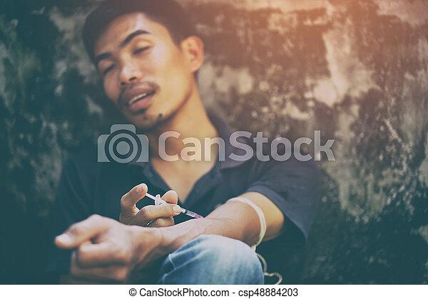 癮, 概念, 藥物 - csp48884203