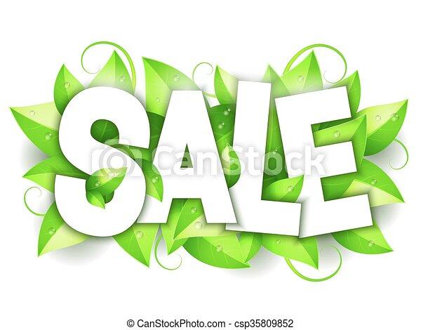発表, 緑, セール, 自然 - csp35809852
