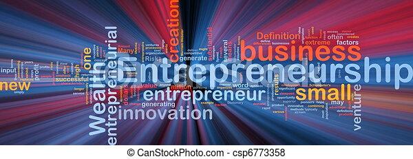 白熱, 概念, ビジネス, 背景, 企業家精神 - csp6773358