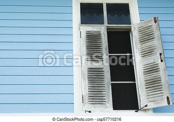 白, 窓 - csp57710216