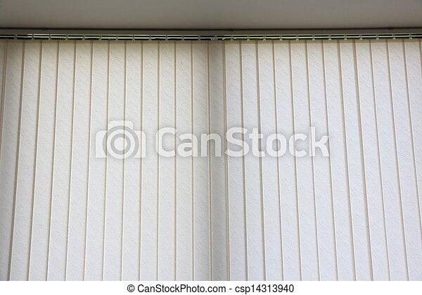 白, curtains., 窓 - csp14313940