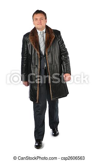皮革上衣, 人 - csp2606563