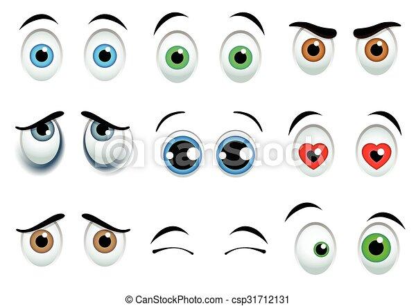 目, セット, 漫画 - csp31712131
