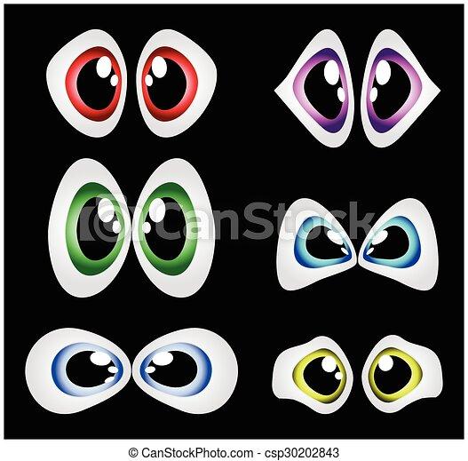 目, ベクトル, セット - csp30202843