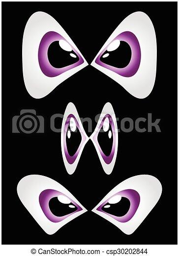 目, ベクトル, セット - csp30202844
