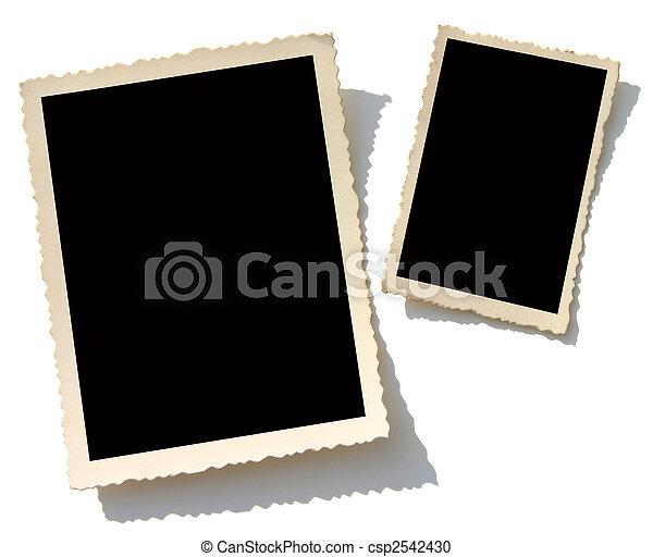 相片, 老, 邊框 - csp2542430