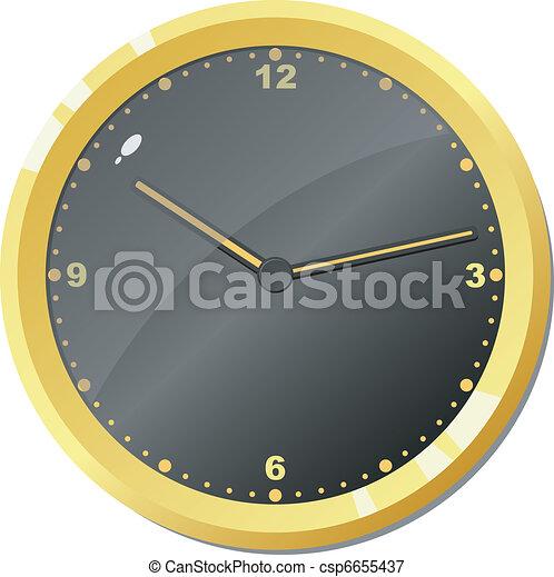 矢量, clock. - csp6655437