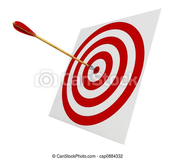 矢, ターゲット - csp0884332