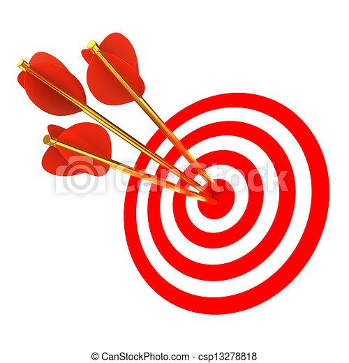 矢, ターゲット, 3 - csp13278818