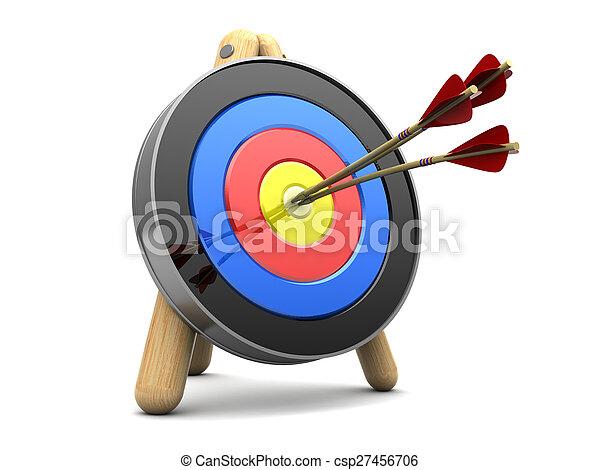 矢, ターゲット, 3 - csp27456706