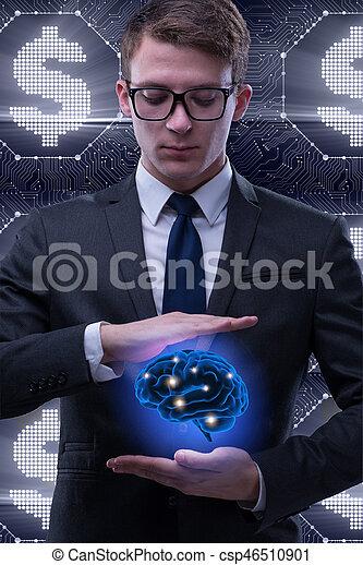 知性, 概念, 人工, ビジネスマン - csp46510901