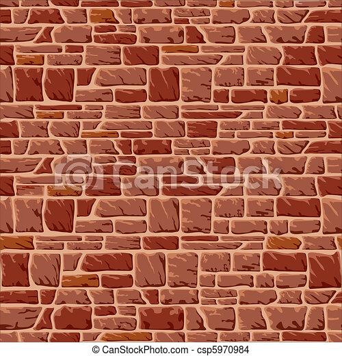 石の壁 - csp5970984