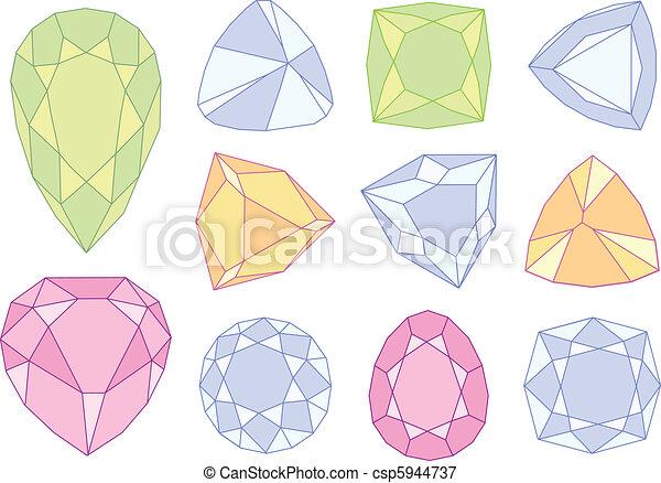 石 ベクトル 宝石 ベクトル 石 セット 宝石 イラスト