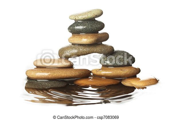 石, 水 - csp7083069