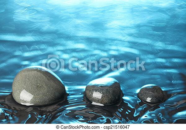 石, 水 - csp21516047