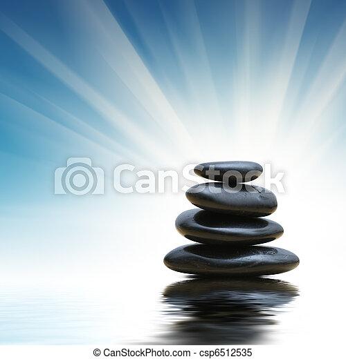 石, 禅, 山 - csp6512535