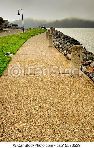 石, francisco, san, 通り道, 湾 - csp15578529