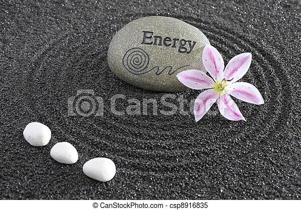 石, zen 庭, エネルギー - csp8916835