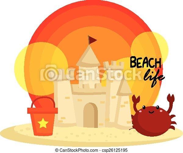 砂の 城 - csp26125195