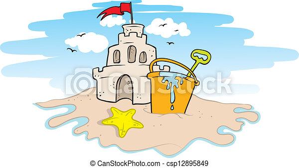 砂の 城 - csp12895849