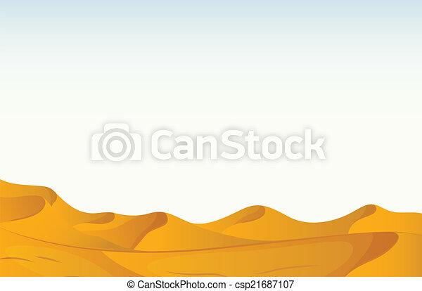 砂漠 - csp21687107