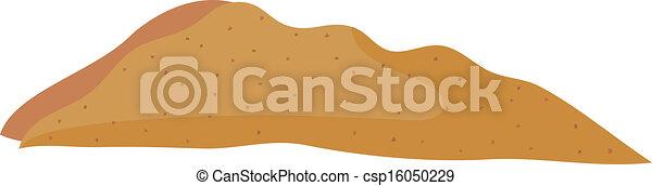 砂, 山 - csp16050229