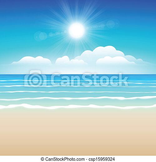 砂, 空, 海 - csp15959324