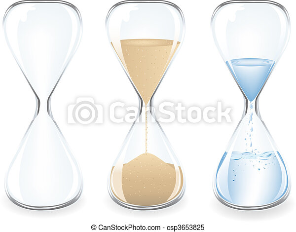 砂, clocks - csp3653825