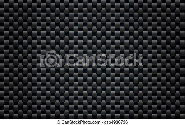 碳, 纖維, 結構 - csp4936736