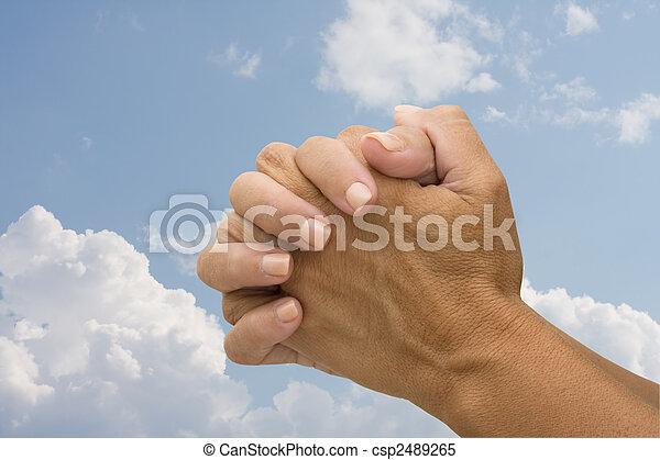 祈ること - csp2489265