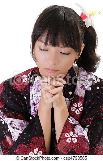 祈ること - csp4733565