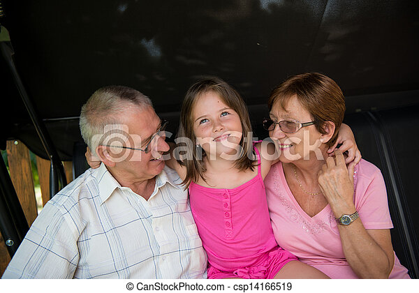 祖父母, 孫 - csp14166519