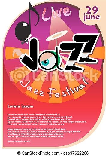 祝祭, ジャズ - csp37622266