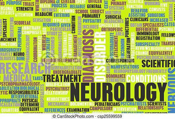 神経学 - csp25599559