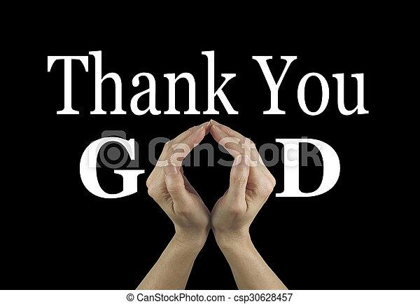 神, あなた, 感謝しなさい - csp30628457