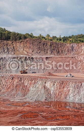 私の, 採石場 - csp53553809