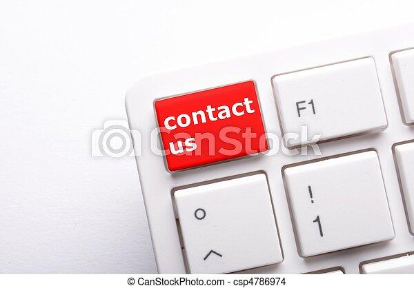 私達に連絡しなさい - csp4786974