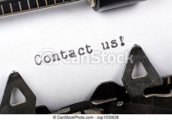 私達に連絡しなさい - csp1030638